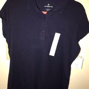 NWT Liz Claiborne Polo Shirt M